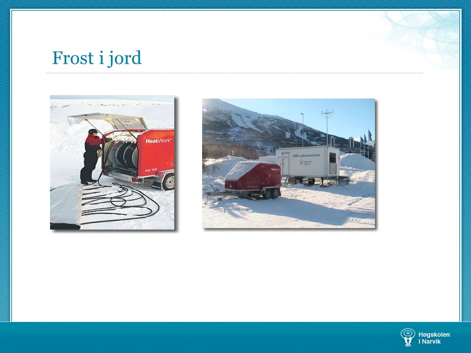Frost i jord