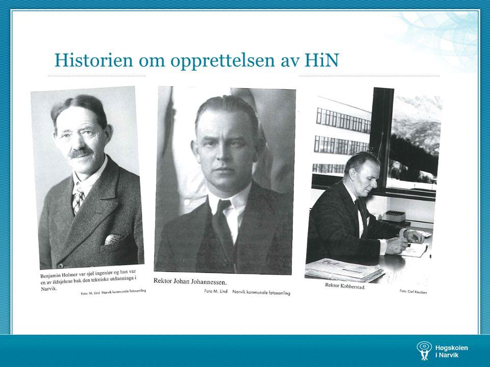Historien om opprettelsen av HiN