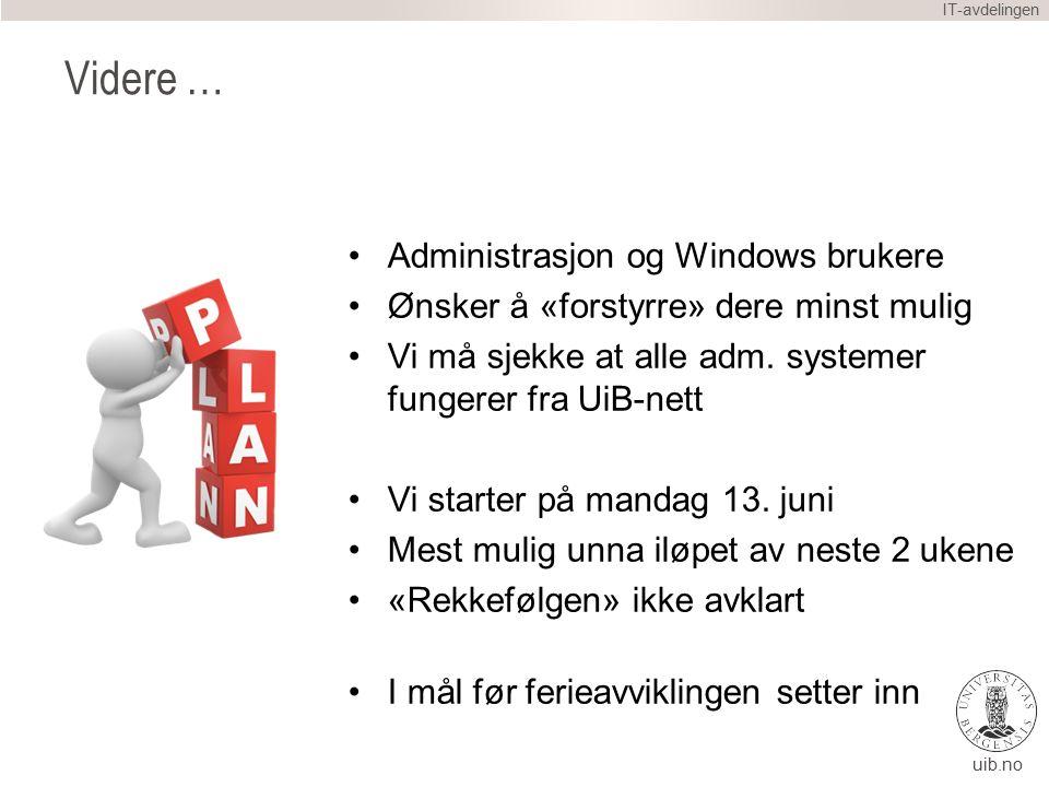 IT-avdelingen