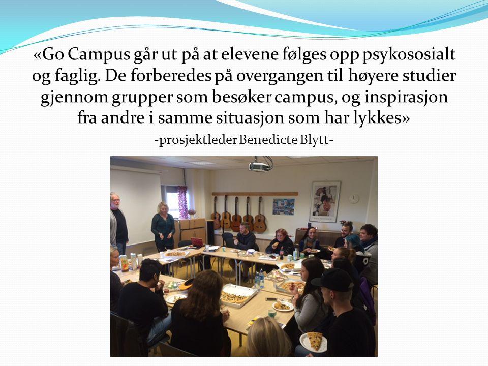 Mål: Erobre Campus! Høyskole/ universitet Fannefjord Videregående Studier Velferd Kultur