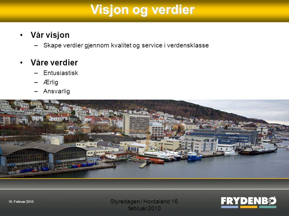 16.Februar 2010 Styredagen i Hordaland 16. februar 2010 10Sponsorvirksomhet Hvem sponser vi.