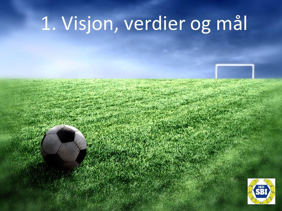 1. Visjon, verdier og mål