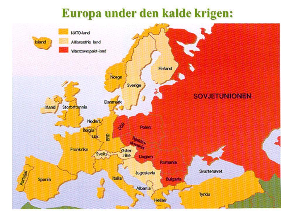 Europa under den kalde krigen: