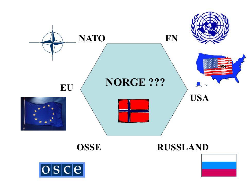 NATO RUSSLAND FN USA OSSE EU NORGE