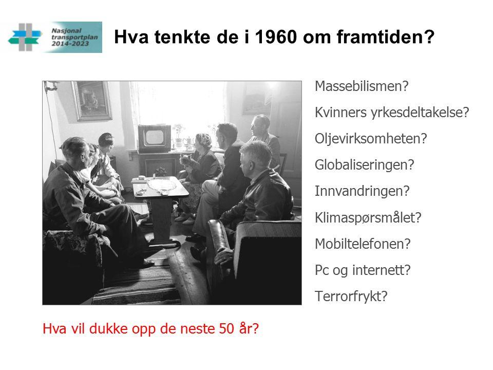 Hva tenkte de i 1960 om framtiden. Massebilismen.
