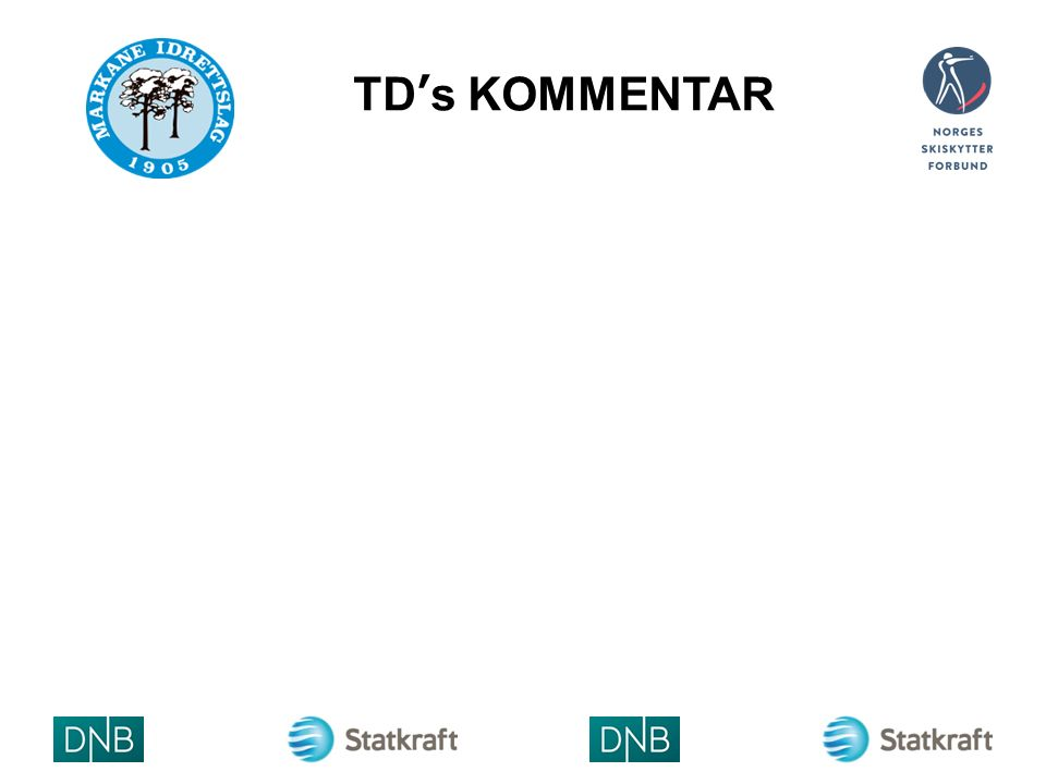 TD's KOMMENTAR ARRAN GØRLO GO