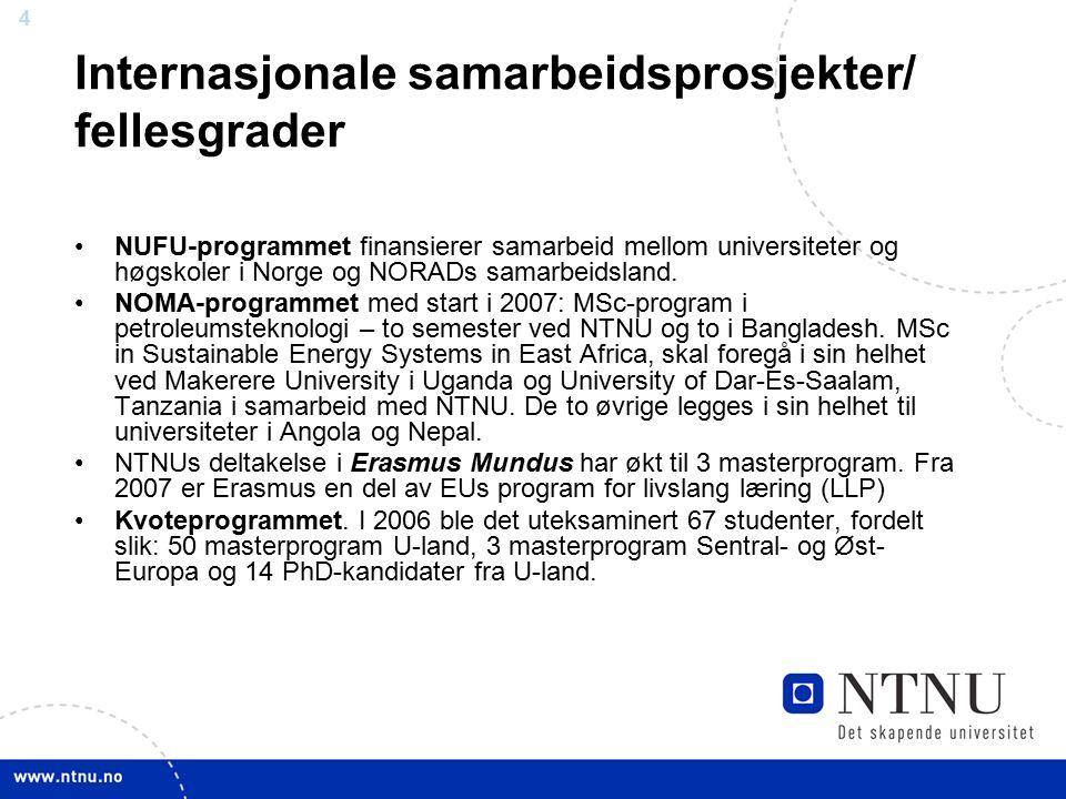 15 4.semesterMasteroppgave ved NTNU (30 sp) 3.