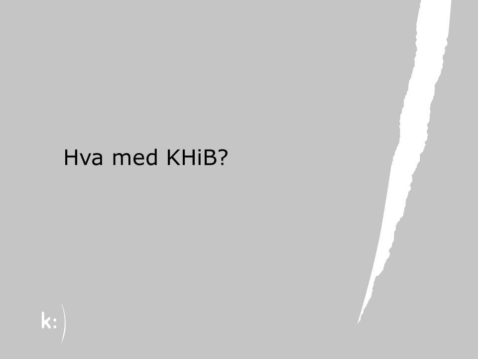 22.08.13 Hva med KHiB