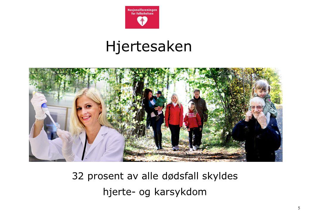 6 Bidrar med omtrent 20 millioner årlig til hjerte- og karforskning Forebyggende og helsefremmende aktiviteter Helseinformasjon Hjertelinjen 23 12 00 50