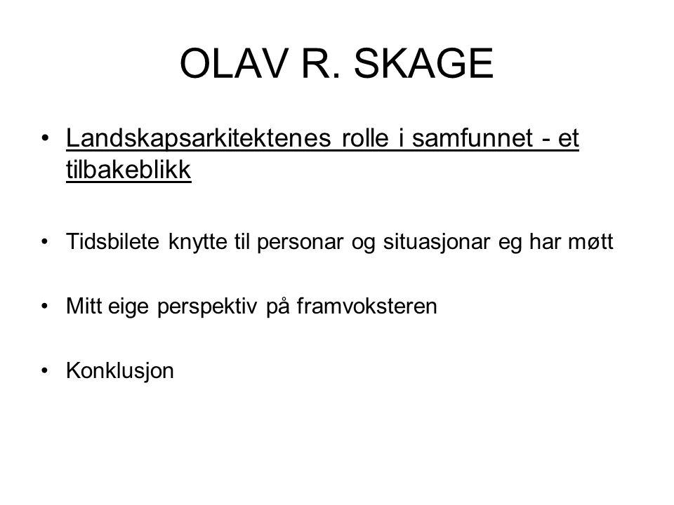 OLAV R.