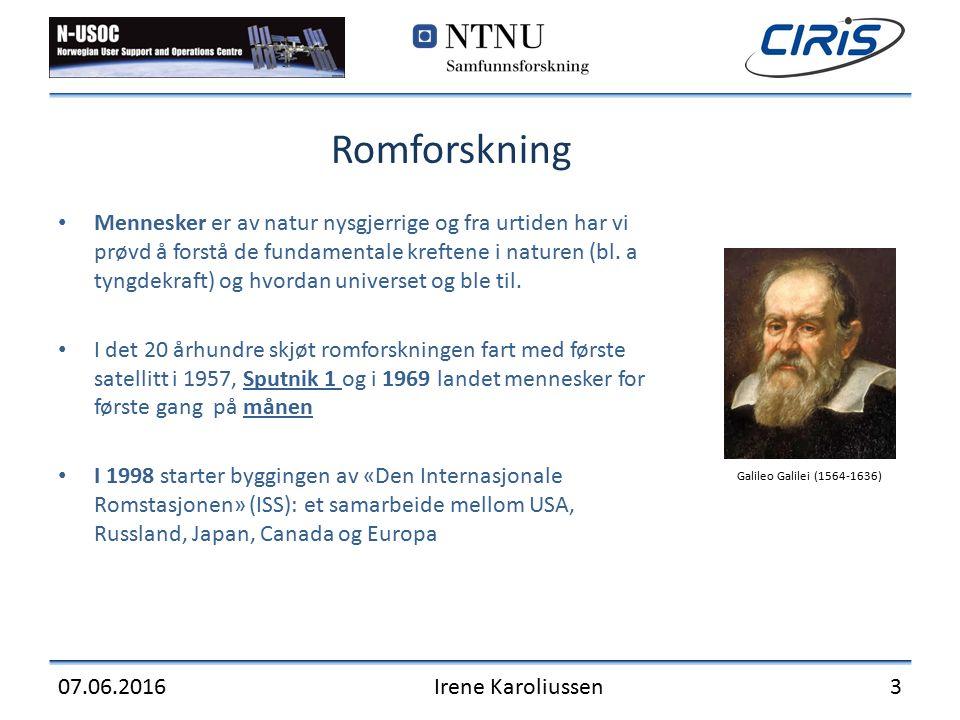 Back-up slides 07.06.2016Irene Karoliussen 14