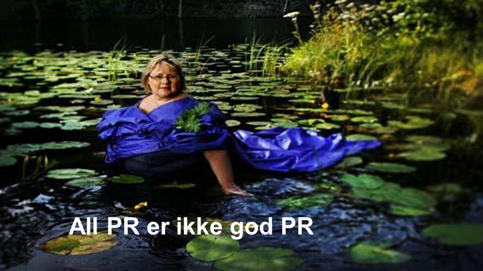 All PR er ikke god PR