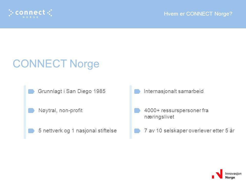 Hvem er CONNECT Norge.
