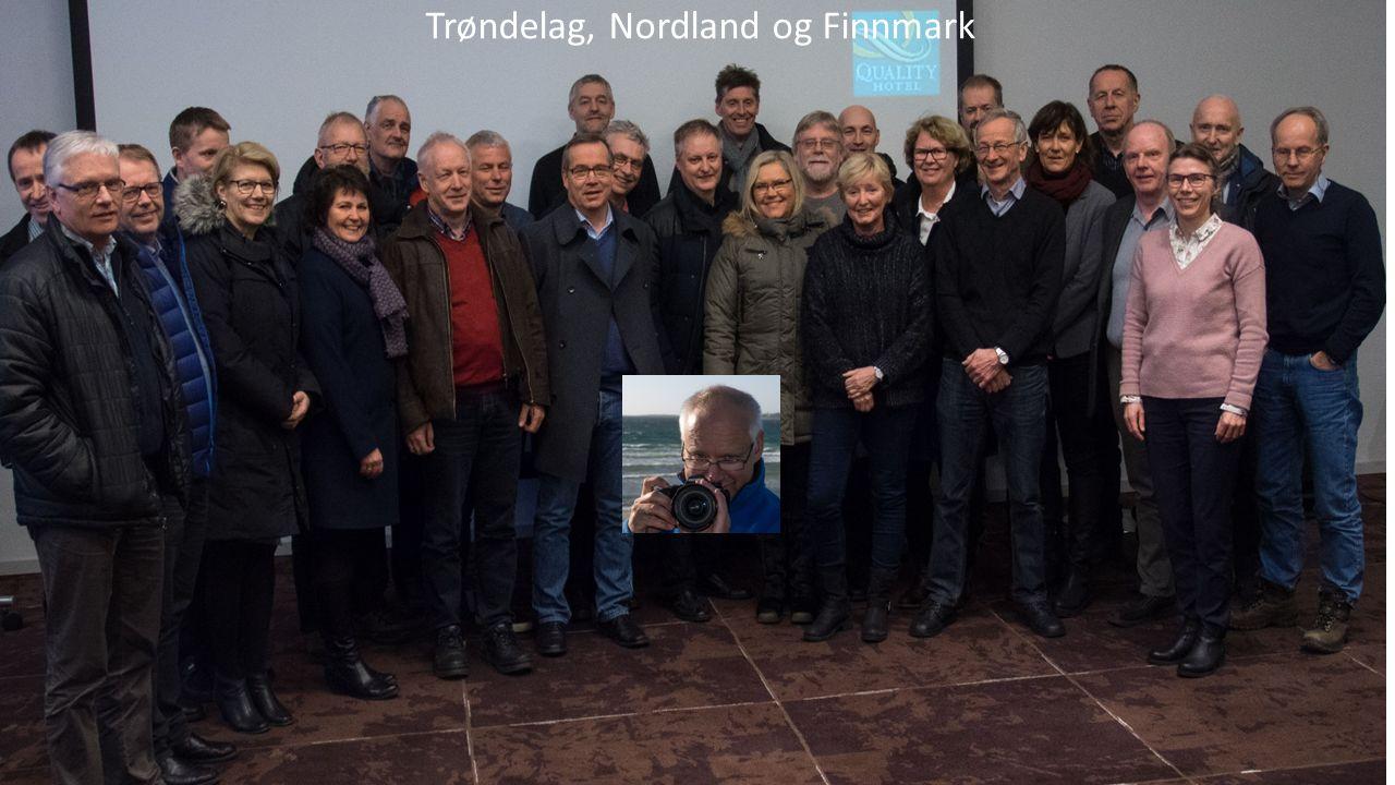 Fagskolesamling på Stjørdal 19. og 20. januar 2016 Trøndelag, Nordland og Finnmark