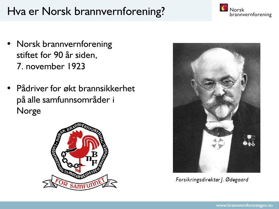 www.brannvernforeningen.no Hva er Norsk brannvernforening.