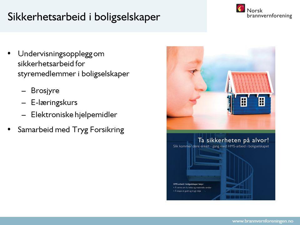 www.brannvernforeningen.no Kunnskap og kompetanse Gjennom bred kunnskapsformidling skal vi bidra til å styrke brannfaget, og påvirke til at bygninger bygges og driftes mest mulig brannsikkert.