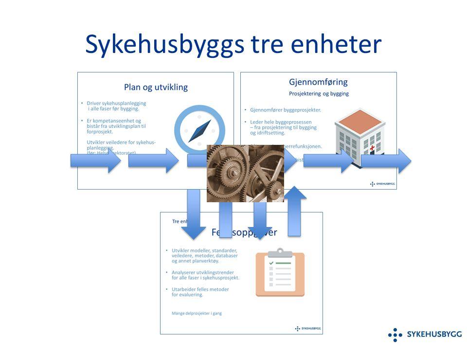Standardisering Funksjonskrav Metode Løsning Gjennomføringsfase Tidligfase Gjennomf.fase internt / eksternt i nternt .