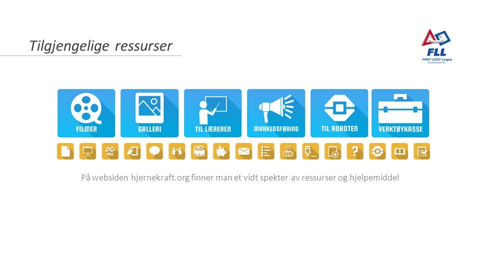 Tilgjengelige ressurser På websiden hjernekraft.org finner man et vidt spekter av ressurser og hjelpemiddel
