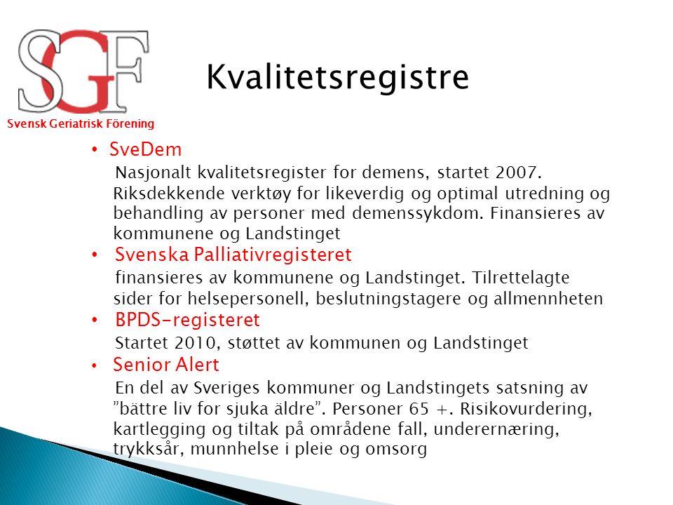 Faglige rapporter (2000 -2009) Flere arbeidsgrupper Akuttgeriatri, ortogeriatri, osteoporose, fall osv.