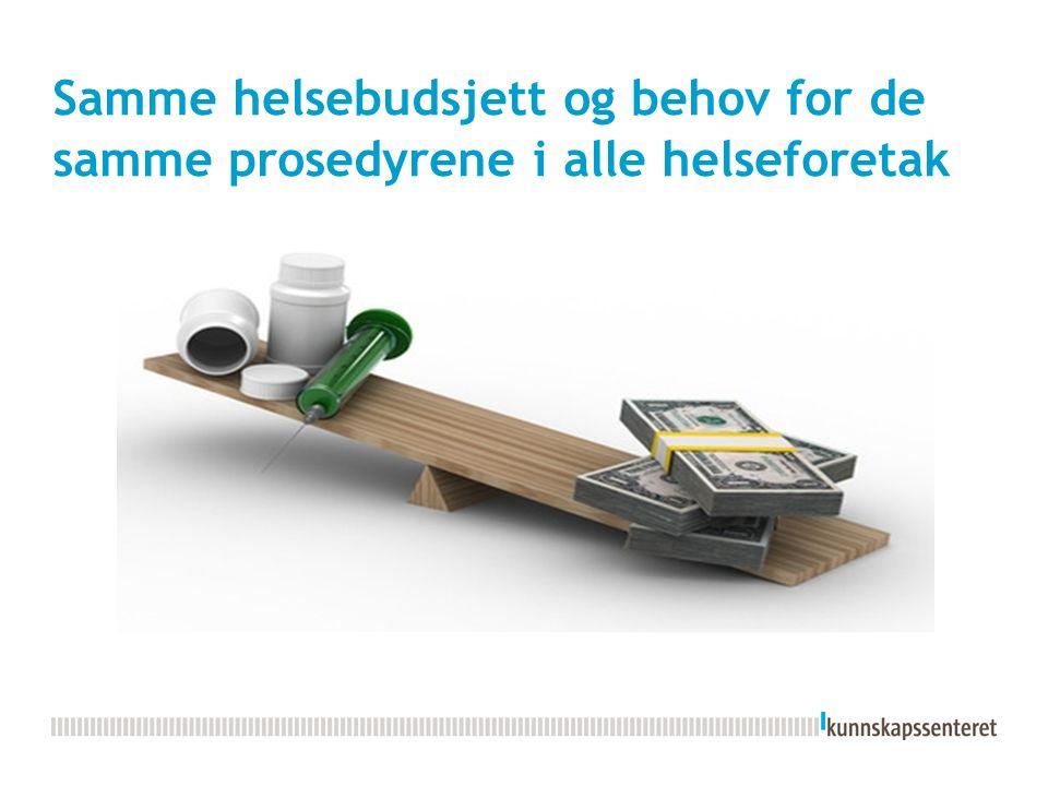 1 Ønske om en ny fagprosedyre i eget HF.Felles metodikk Kvalitets- vurdering i Kunnskapsent.