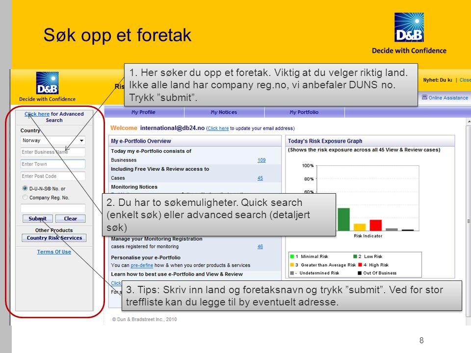 39 Min profil, legg inn ditt egendefinerte oppsett Gå inn på My Profile – User preference Her kan du legge inn ditt standard oppsett