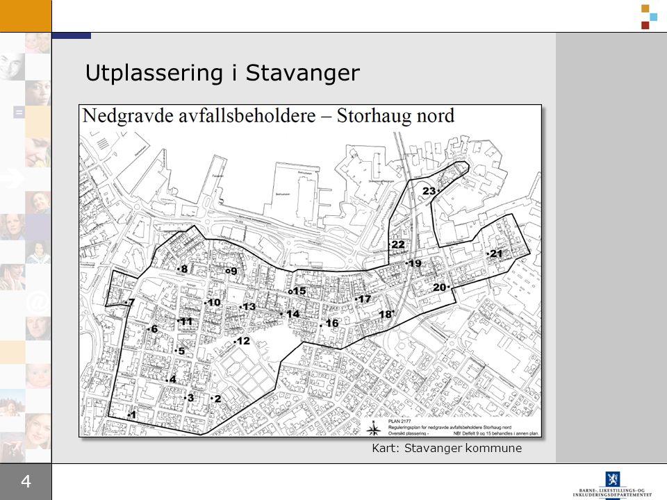 4 Utplassering i Stavanger Kart: Stavanger kommune