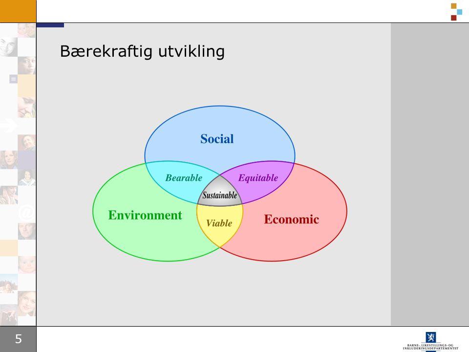 5 Bærekraftig utvikling