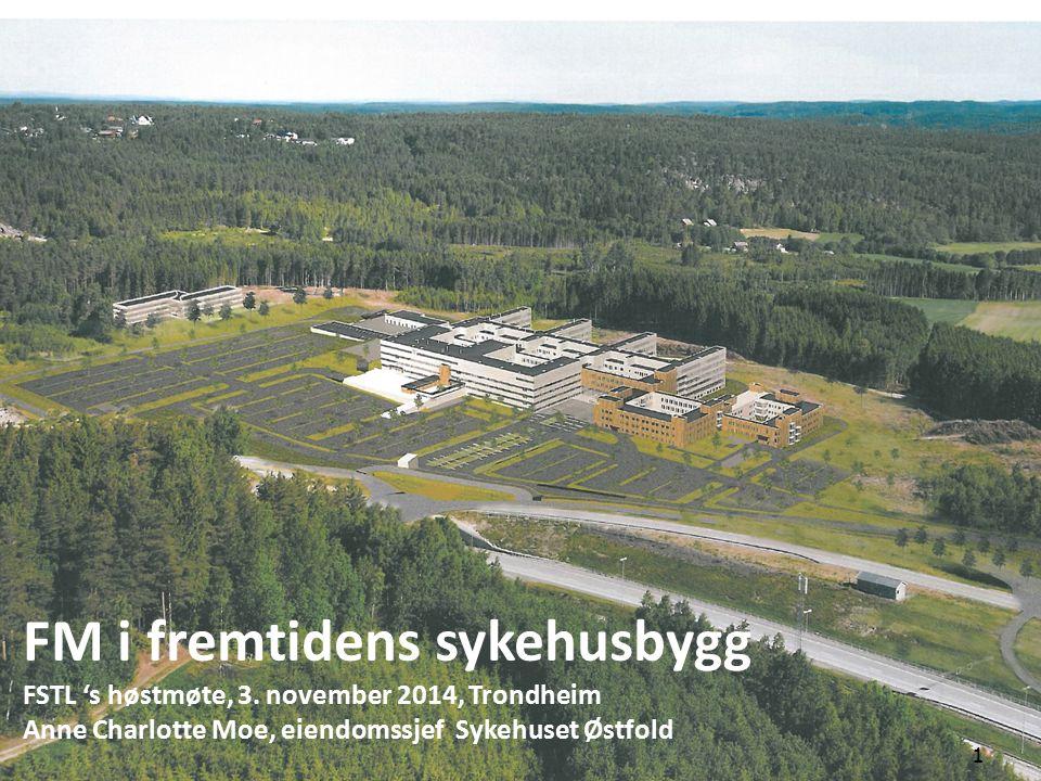 FM i fremtidens sykehusbygg FSTL 's høstmøte, 3.