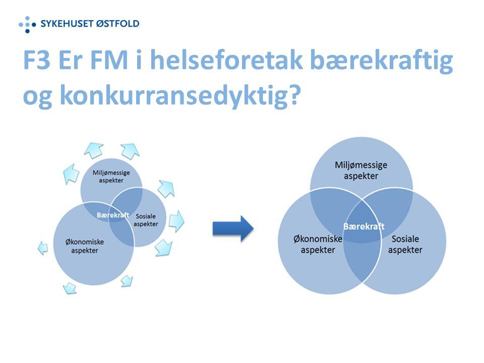F3 Er FM i helseforetak bærekraftig og konkurransedyktig
