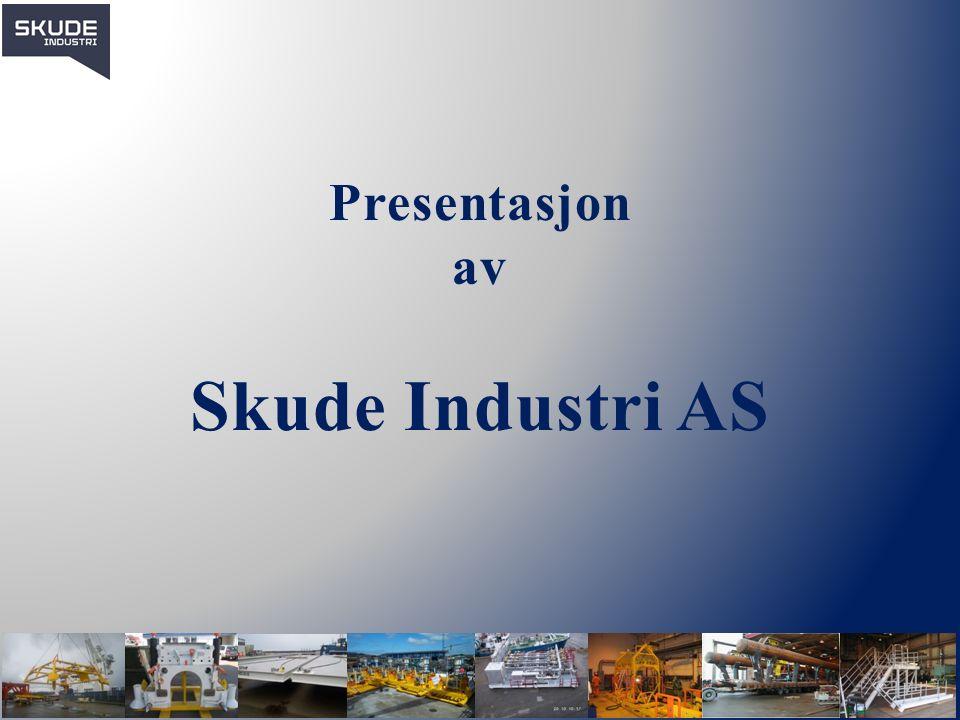 Historie & Eierstruktur Skude Industri AS ble etablert i Skudeneshavn, som mekanisk bedrift for skipsfartsreparasjoner i 1963, da under navnet Håkonsen Mekaniske Verksted.