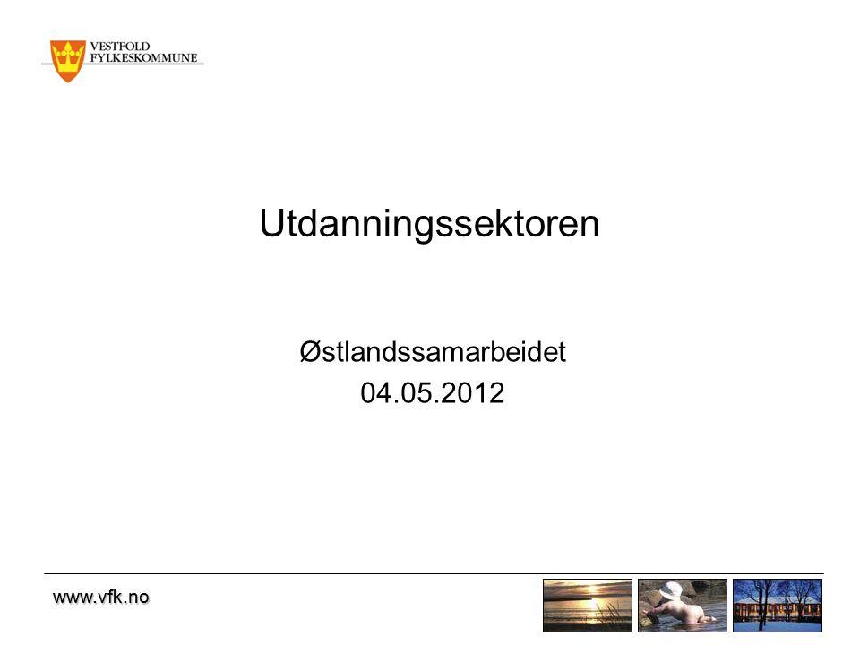 www.vfk.no Utdanningssektoren Østlandssamarbeidet 04.05.2012 www.vfk.no