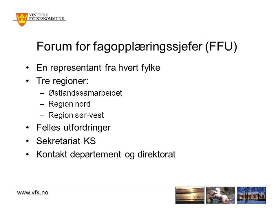 www.vfk.no Målsetting Å skape permanente samarbeidsrelasjoner mellom kommunene og fylkeskommunen om de svakest presterende elevene.