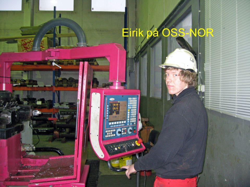 Eirik på OSS-NOR