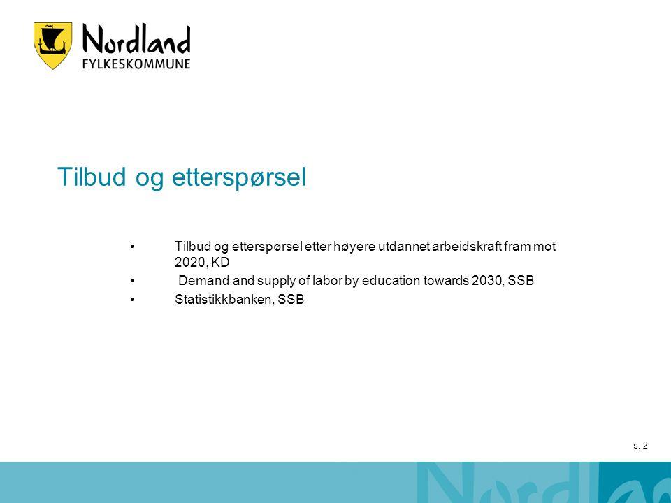 s. 23 Nettoflytting og folketilvekst - Nordland 2010