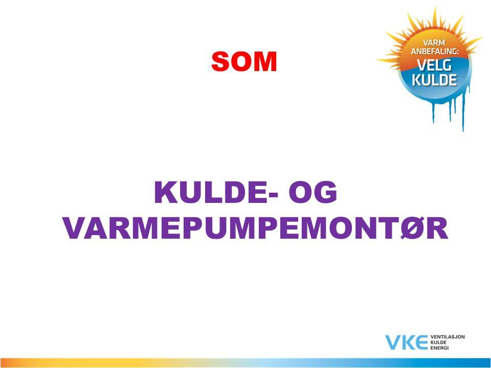 SOM KULDE- OG VARMEPUMPEMONTØR