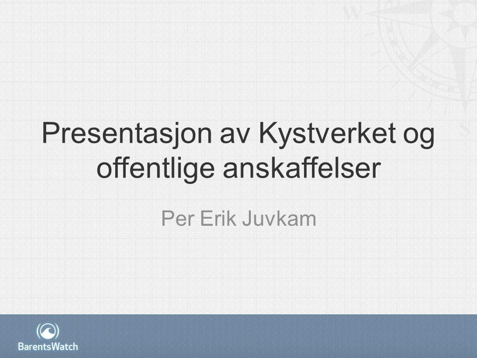 PREKVALIFISERING Per Erik Juvkam