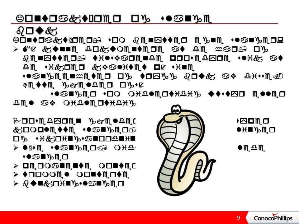 9 Kontraktører og slange bruk Kontraktører, som benytter egne slanger:  Må kunne dokumentere at de har, og benytter, tilsvarende prosedyre slik at de sikrer kvalitet på sine slangeenheter og trygg bruk av disse.