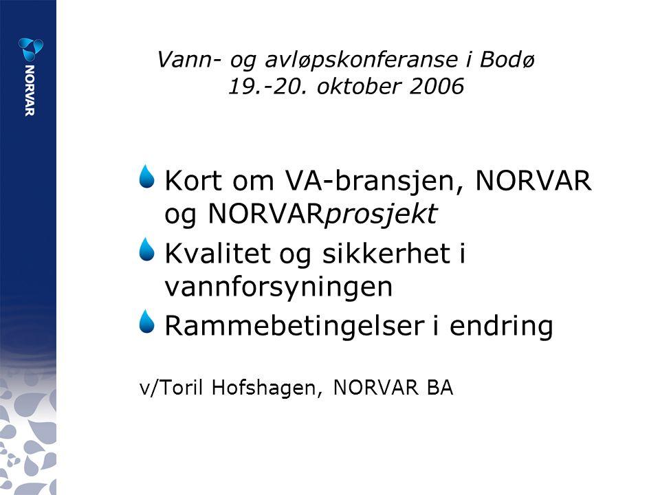 Vann- og avl ø pskonferanse i Bod ø 19.-20.