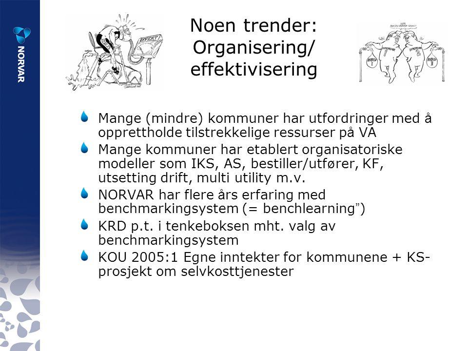 Trender - organisering Hva skjer internasjonalt.Europeiske land – forskjellige strategier.