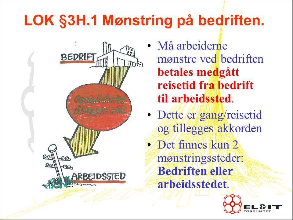 LOK §3H.1 Mønstring på bedriften.