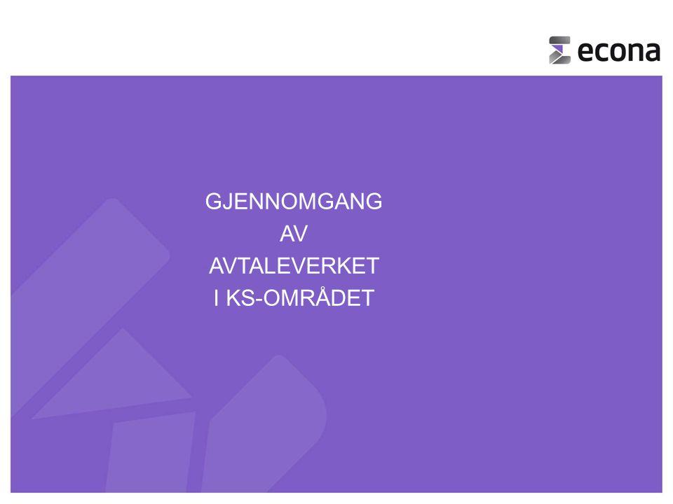 1 -GJENNOMGANG -AV -AVTALEVERKET -I KS-OMRÅDET