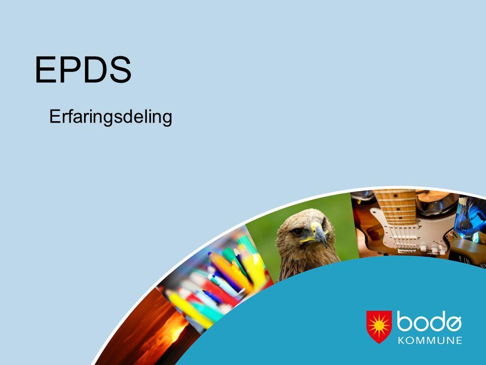 EPDS Erfaringsdeling