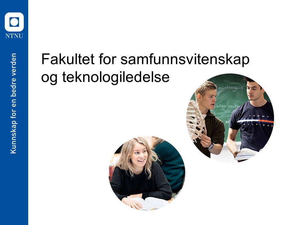 Fakultet for samfunnsvitenskap og teknologiledelse