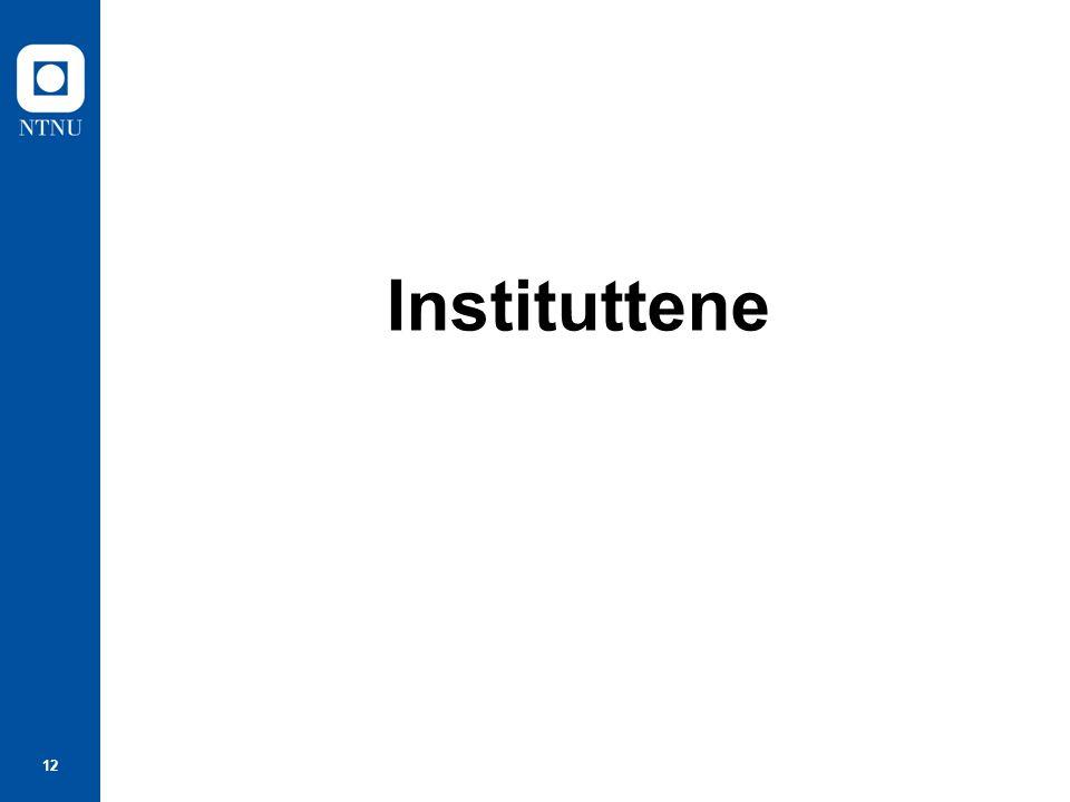 12 Instituttene
