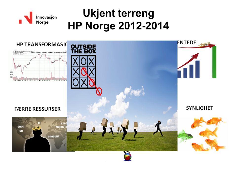 Ukjent terreng HP Norge 2012-2014 HP TRANSFORMASJONVEKST.