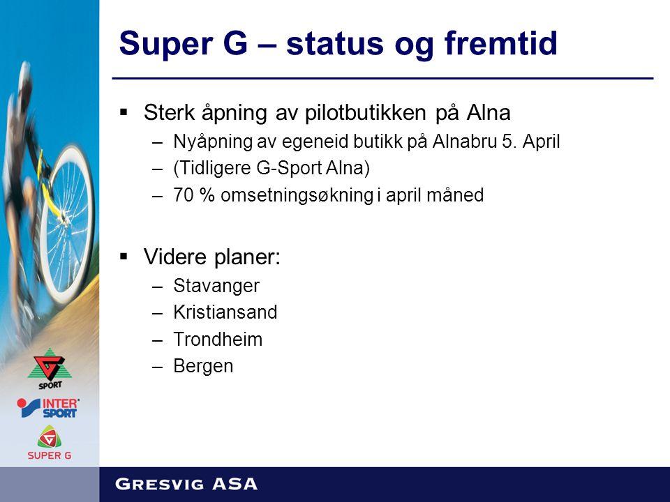  Sterk åpning av pilotbutikken på Alna –Nyåpning av egeneid butikk på Alnabru 5.