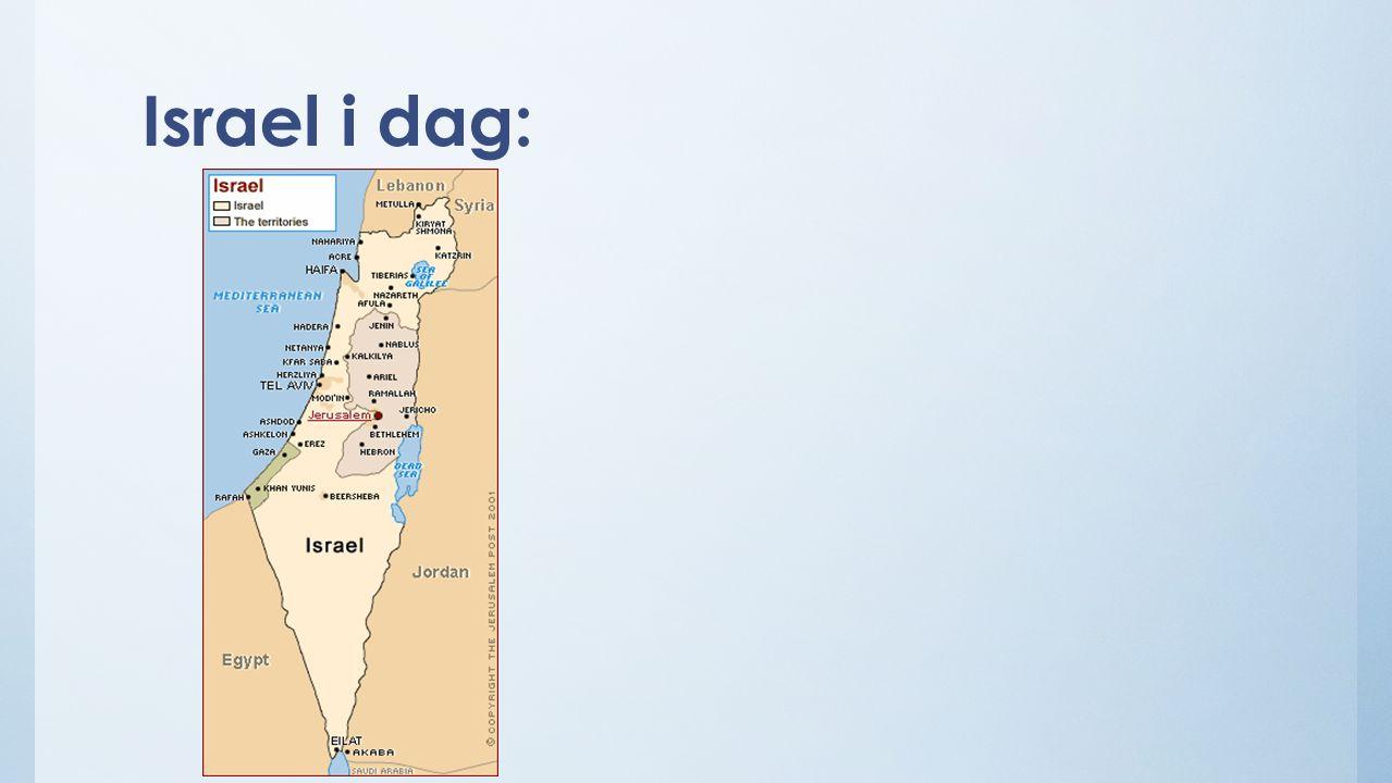 Israel i dag: