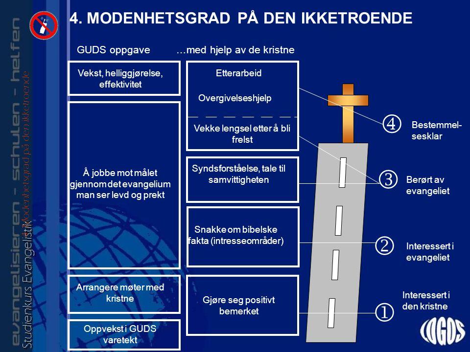 4. MODENHETSGRAD PÅ DEN IKKETROENDE 4.