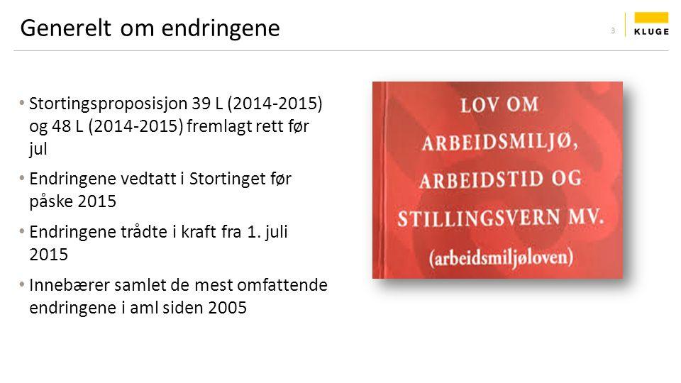 Oppsummering og spørsmål Kontaktinformasjon Jostein Sundvor: jostein.sundvor@kluge.nojostein.sundvor@kluge.no Sunniva Nising Sandvold: sns@kluge.nosns@kluge.no 54