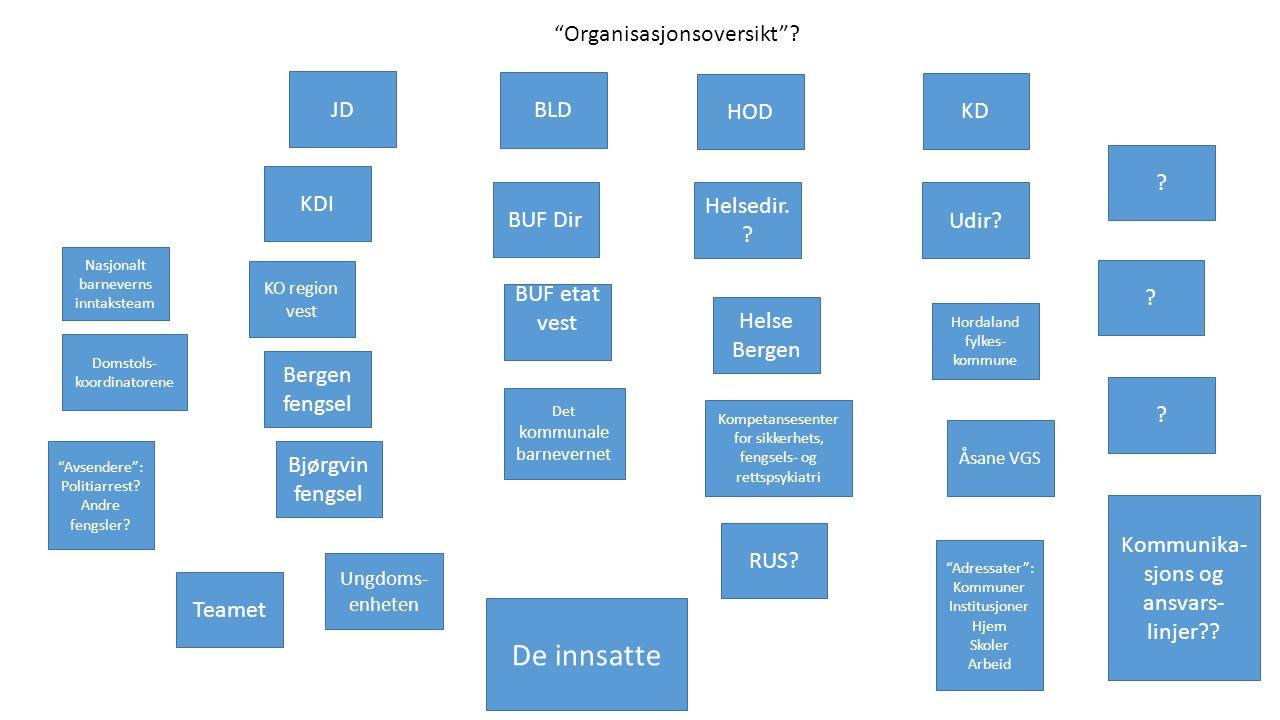 JD KDI Organisasjonsoversikt .